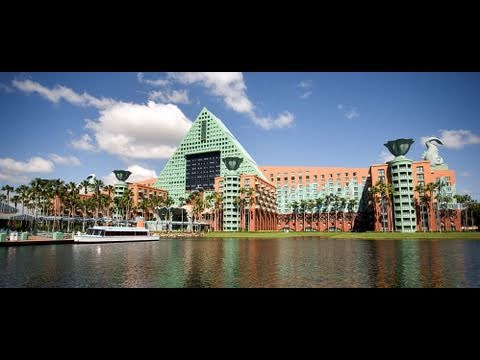 Disney's Dolphin Resort (Swan and Dolphin) Overview – Walt Disney World 2011 HD