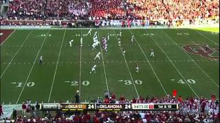 Tony Jefferson vs Oklahoma State (2012)
