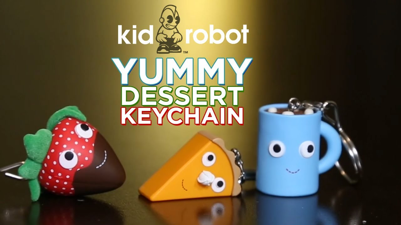 YUMMY dessert keychain Blindbox Ep1