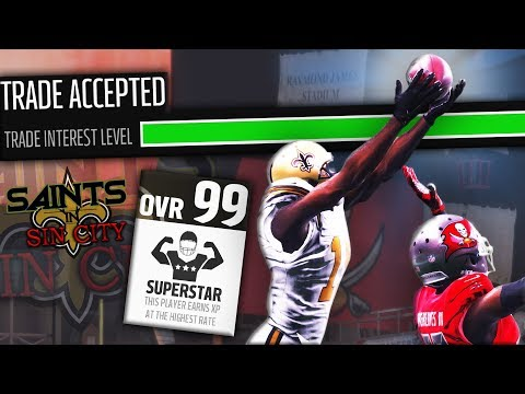 THIS ONE 99 OVERALL TRADE CHANGES EVERYTHING! | Madden 18 Sin City Saints Ep. 7