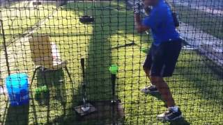 Two Tee Drills with Cam