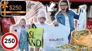 Video £250 SHOPPING SPREE CHALLENGE!! WHAT WILL THEY BUY?! 💴😱 MP3, 3GP, MP4, WEBM, AVI, FLV Maret 2019