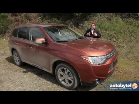 2014 Mitsubishi Outlander Crossover Video Review
