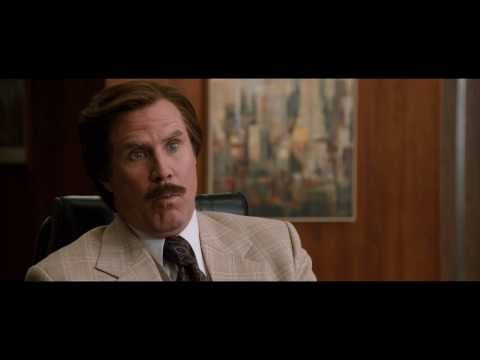Anchorman: The Legend Continues Clip 'News Ideas'