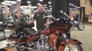 9. 2015 Harley Davidson CVO Road Glide Ultra Motorcycle for sale