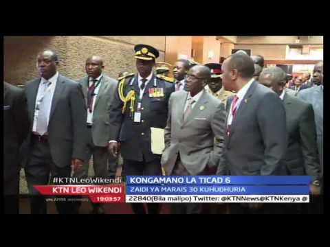 KTN Leo Wikendi 27th August 2016 - Kongamano la TICAD laanza rasmi Jijini Nairobi