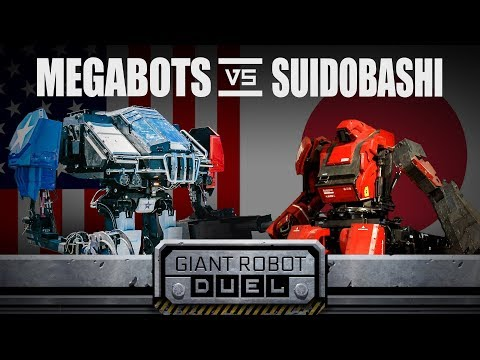 Megabots vs Suidobashi Heavy Industry The Giant Robot