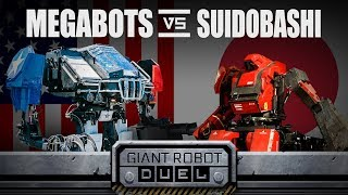 Video THE GIANT ROBOT DUEL MP3, 3GP, MP4, WEBM, AVI, FLV September 2018