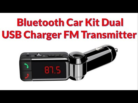 Bluetooth car kit Dual USB Charger FM Transmitter Mp3 Player Hands-free   TECHNICAL SAJID