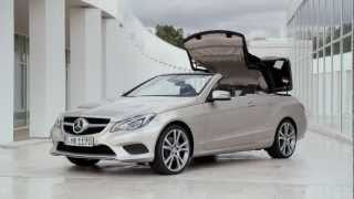 Mercedes 2014 E 350 BlueTEC Cabriolet Road And Interior HD Trailer