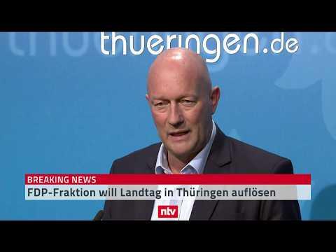 Thüringen: Ministerpräsident Kemmerich (FDP) erklärt R ...