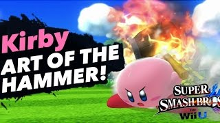 [Wii U/3DS]The Art of the HAMMER – Smash 4 Kirby Montage (Comedy)