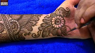 Step by Step Latest Full Hand Mehndi Design For Hand 2017 # 1010+