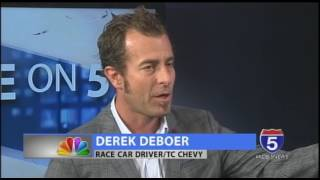 On Tonight's Five on 5, we are joined by Derek DeBoer, General Manager of TC Chevy and race car driver. For more information: http://www.derekdeboerracing.co...