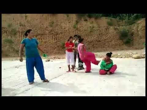 (Woman Beaten by woman dang । नाङ्गै बनाएर कुटिइन् महिला - Duration: 114 seconds.)