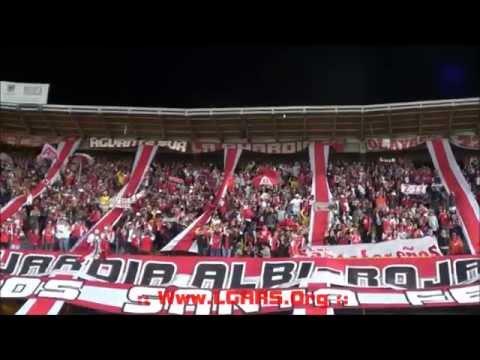 //Señores lo dejo todo..// Rojo, mi buen amigo...// Independiente Santa Fe vs Deportivo La Coruña - La Guardia Albi Roja Sur - Independiente Santa Fe