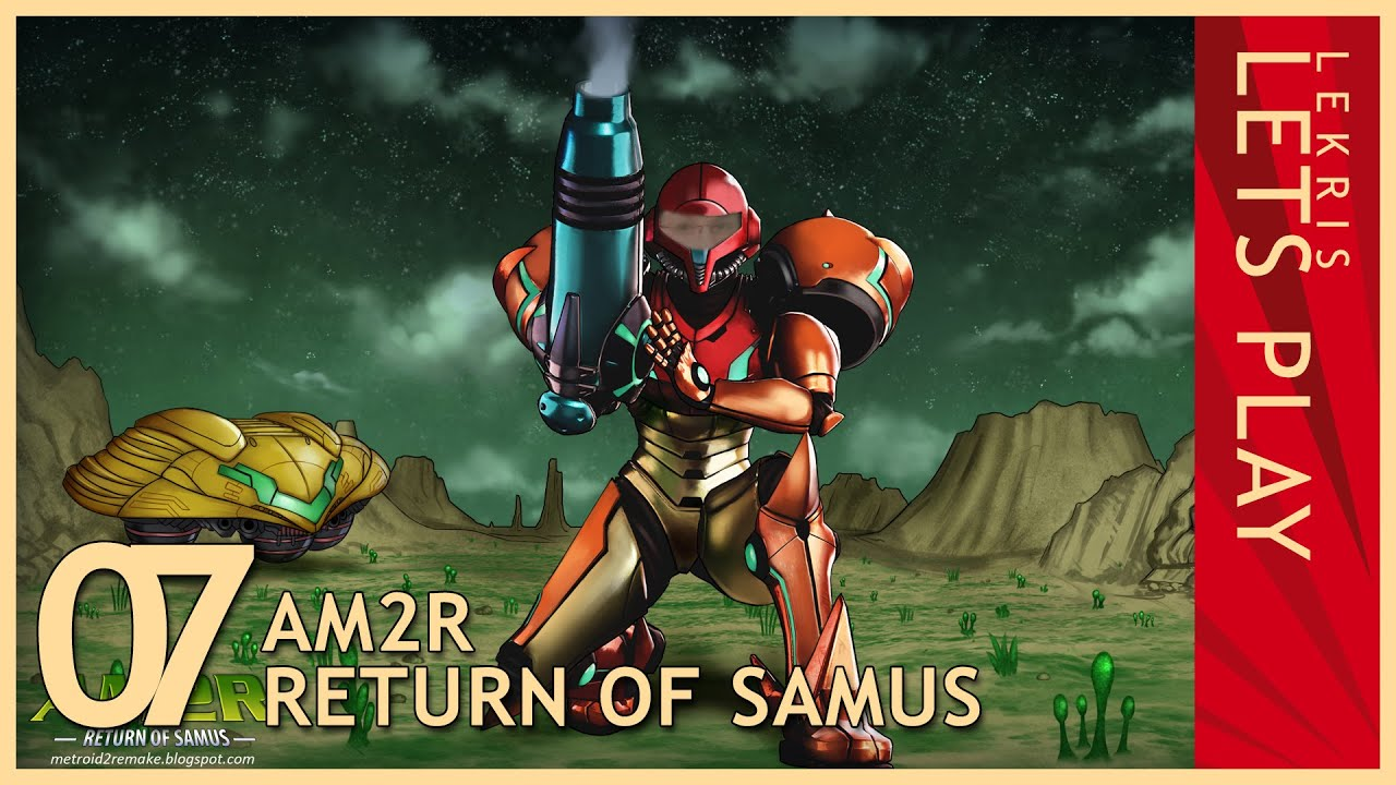Let's Play AM2R - Return of Samus 1.0 Full Version #07 - Hydro Station - Torizo