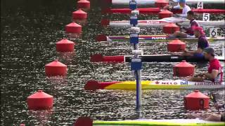 2015 Duisburg K1 500m Men Canoe Sprint World Cup 2