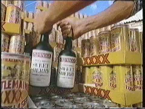 Xxxx C Man xxxx - Humourous Aussie Lager Ads run in the UK in the 80s.