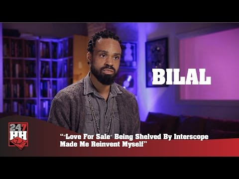 "Bilal - ""Love For Sale"" Being Shelved By Interscope Made Me Reinvent Myself (247HH Exclusive)"