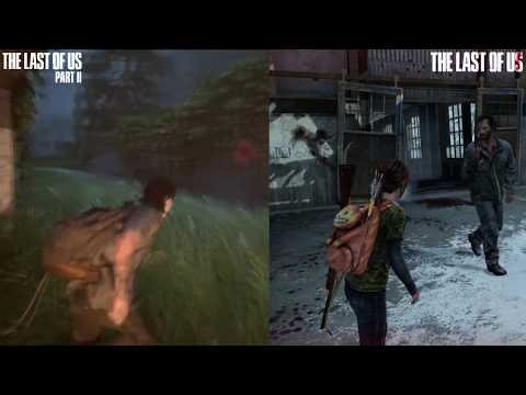 The Last of Us Vs The Last of Us 2 - Graphics and GamePlay Comparison