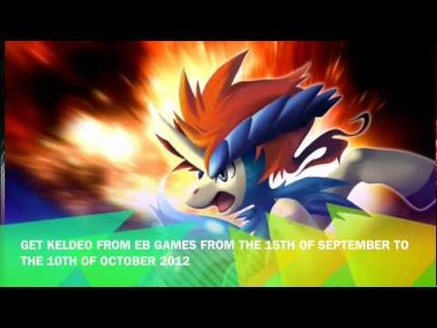 how to get a keldeo in pokemon black