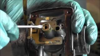 8. Nettoyage et ajustement carburateur-partie 1