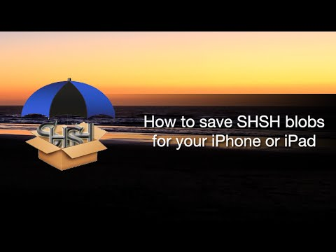 How to save SHSH blobs for your iPhone or iPad using the new TinyUmbrella beta (видео)