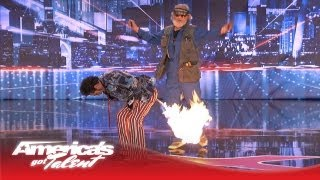 Johnny Tong Is a Crazy and Naughty Magician - America's Got Talent