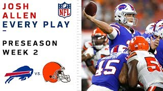 Every Josh Allen Play vs. Browns by NFL