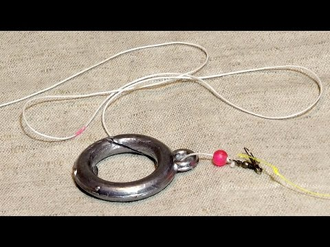 устройство удочки на кольцо
