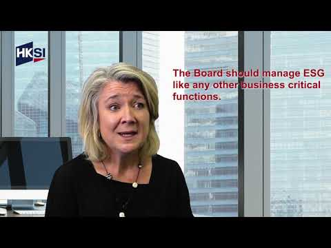 SI - ESG Series: The Board's Role in ESG