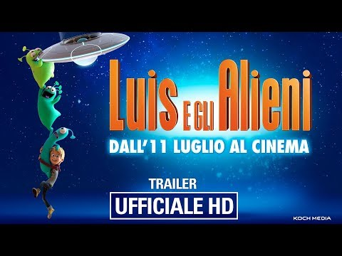 Preview Trailer Luis e gli alieni, trailer ufficiale italiano