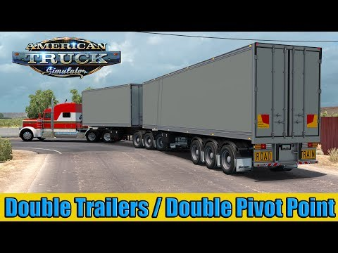 Double Trailer ATS Sn4k3r Edit