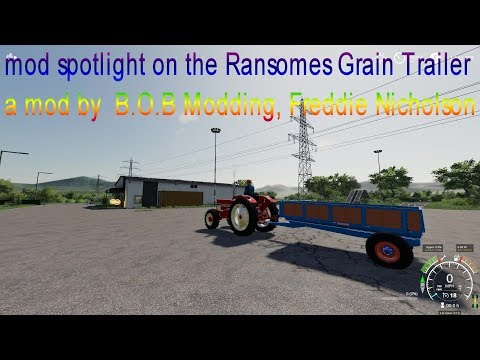 Ransomes Grain Trailer v1.0.0.0