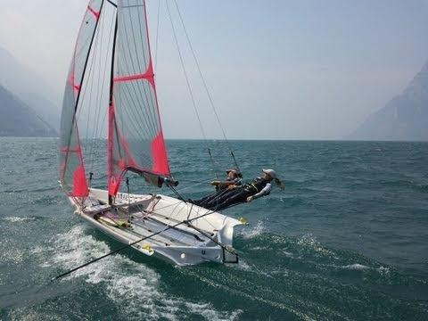 Sailing bloopers 29erXX sailing team