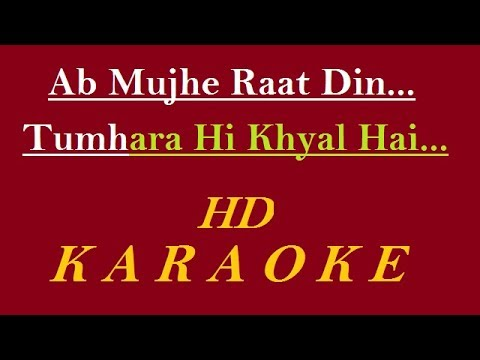Video Ab mujhe Raat Din Karaoke | Deewana | Sonu Nigam | Hindi Karaoke Track download in MP3, 3GP, MP4, WEBM, AVI, FLV January 2017