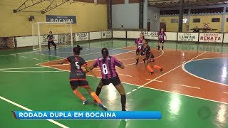 Brotas e Bocaina se destacam durante jogos da série Prata no ginásio Irmãos Angotti em Bocaina