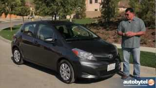 2013 Toyota Yaris Test Drive&Subcompact Car Video Review