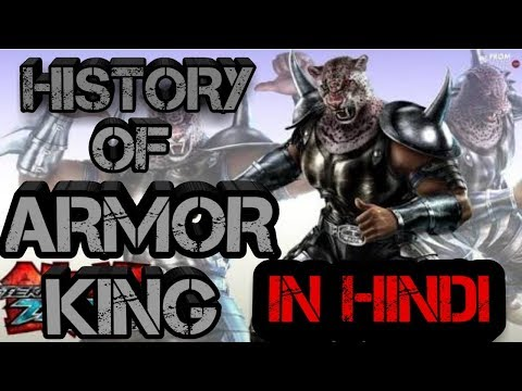 History of Armor king tekken 7 in hindi / by anything games lover