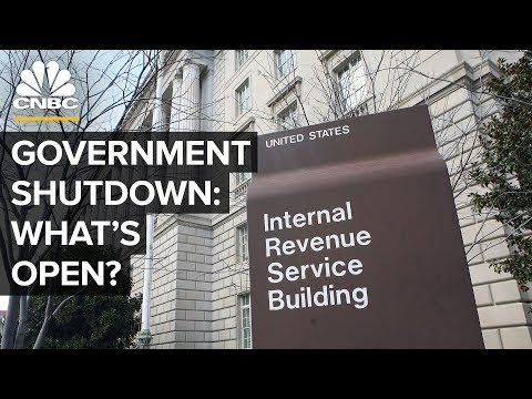 This Is What Happens When The U.S. Government Shuts Down   CNBC