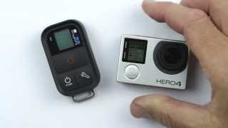 Video How to Pair the GoPro Smart Remote with the GoPro HERO4 MP3, 3GP, MP4, WEBM, AVI, FLV September 2018