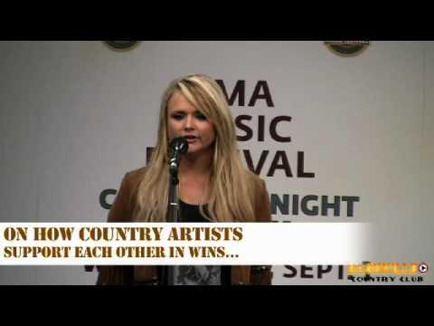 Miranda Lambert at CMA Fest 2010