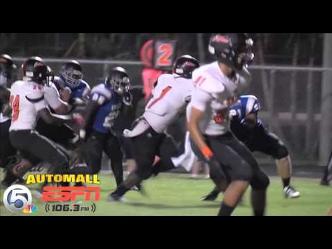 Video: Coolest play of the night-Ernst Belliard scores on a 15-yard touchdown run