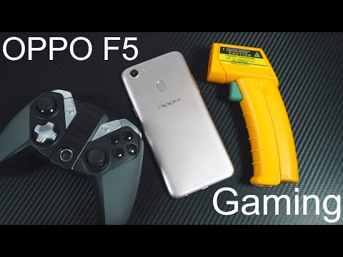 Oppo F5 Gaming Review and Heat Test
