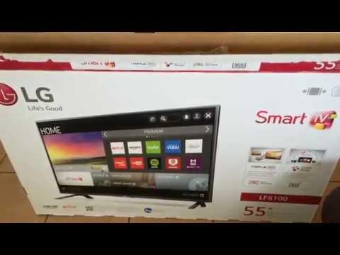 LG 55 Class Smart HDTV (Unboxing)