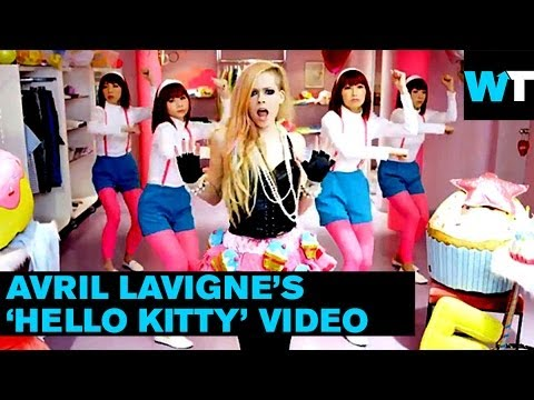 """Avril Lavigne Offends Everyone with """"Hello Kitty"""" Video   What's Trending Now"""