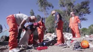 "EBS Gena Special - የገንዳው ህይወት ""Waste collectors life in Addis "" Part 2"
