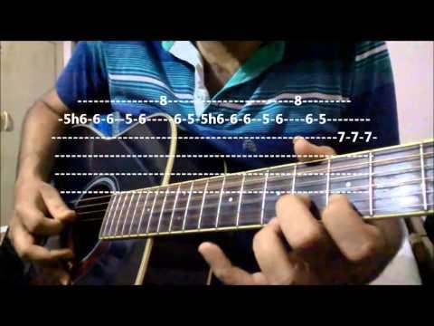 Guitar pehla nasha guitar tabs lesson : Abhi Abhi (Jism 2) - Complete Guitar Lesson | K.K