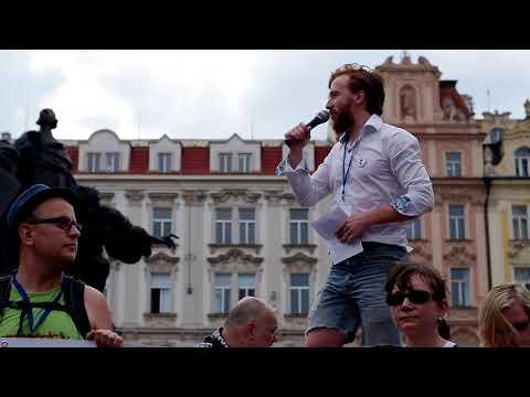 Pokličková demonstrace - 29. 5. 2018 - Milion chvilek